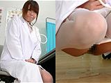 新人女医の放尿行為